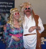 Lions Martin & Gillian at MD Convention in Torquay