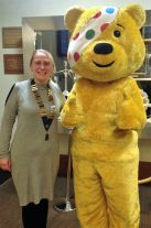 Andrea & Pudsey
