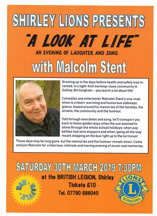 Malcolm Stent Evening Details